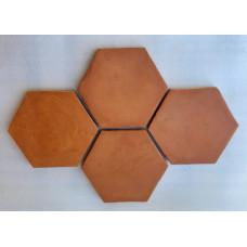 Ruční cihlová dlažba CD130HEX (hexagon)