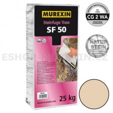 MUREXIN Spárovací malta Trass SF 50 bahama (bílo-béžová) 25 kg