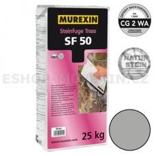 MUREXIN Spárovací malta Trass SF 50 šedá 25 kg