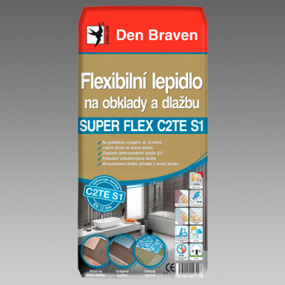 lepidlo Den Braven SUPER FLEX C2TES1