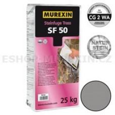 MUREXIN Spárovací malta Trass SF 50 (tmavě šedá) 25 kg
